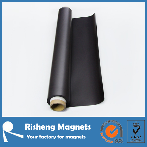flexible rubber magnetic receptice material with metal sheet