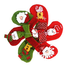 2017 Wholesale Christmas Decoration Socks Cheap Stock Christmas Bag Socks