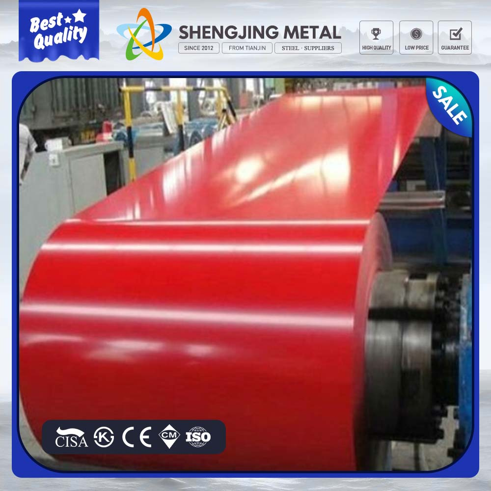 china 0.4mm thick ppgi metal sheets ppgi prepainted galvanized steel coil