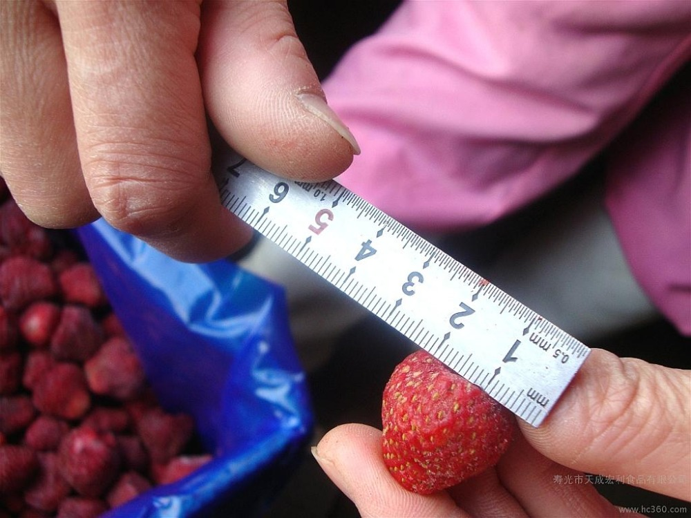 Bulk vegetable product frozen food IQF strawberry in China