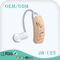 old people deaf aid earphone hearing impaired