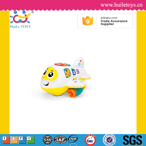 Huile toys cartoon plastic wholesale toy airplane toy with EN71