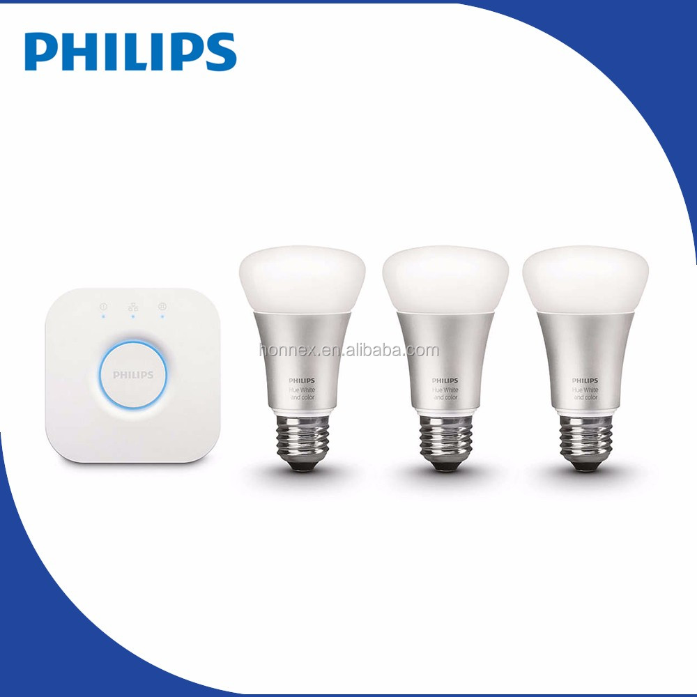 PHILIPS Hue new light <strong>bulbs</strong> for different shades of white light 10W A60 E27 PHILIPS HUE
