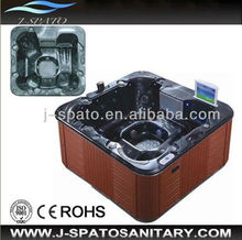 Artificial Sanitary Ware Pop-up TV Outdoor Spa