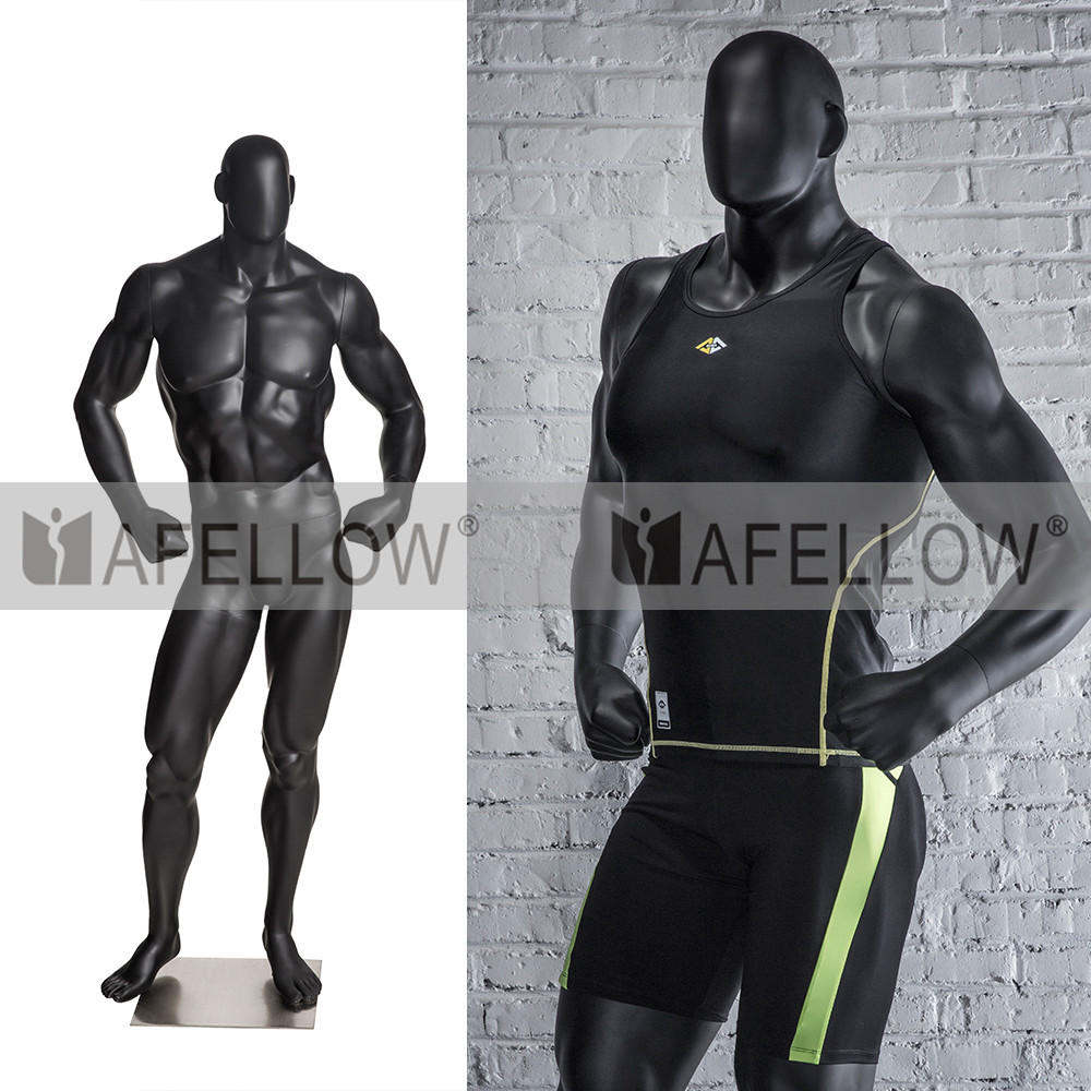 male sport mannequin big muscle mannequin