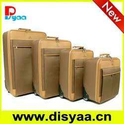 2012 fashion style EVA trolley luggage for businessman