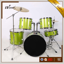 Hot Sale Cheaper 5PCS Green Color PVC Drum Set