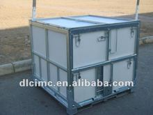 Steel /Plastic Pallet Box Container/metal collapsible Pallet Box