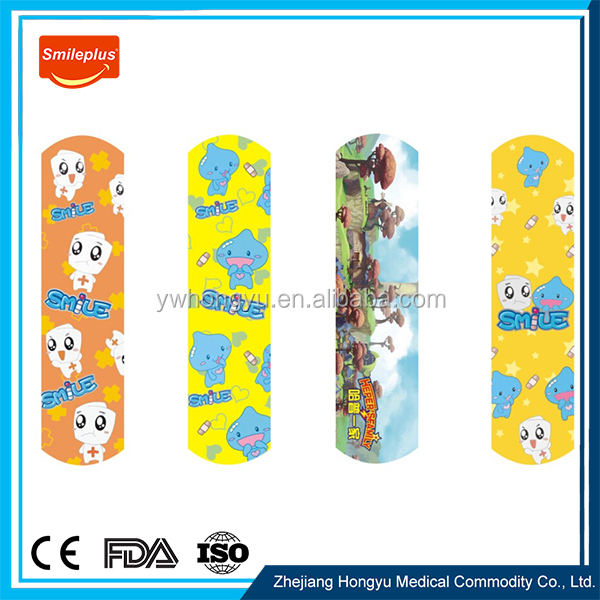 New Design Products Different Shape Custom Printed Band Aid