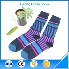 Low Price New <strong>Design</strong> Knitted Natural Multicolor Long Socks Women