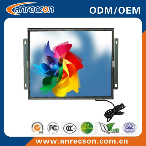 19 inch open frame touch aoc monitor for retail kiosk