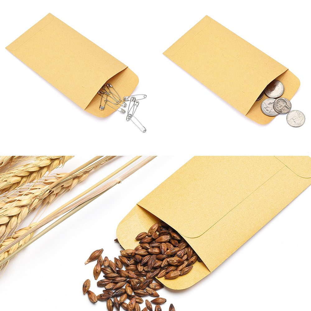 Wholesale custom printed mini size seed shatter envelopes