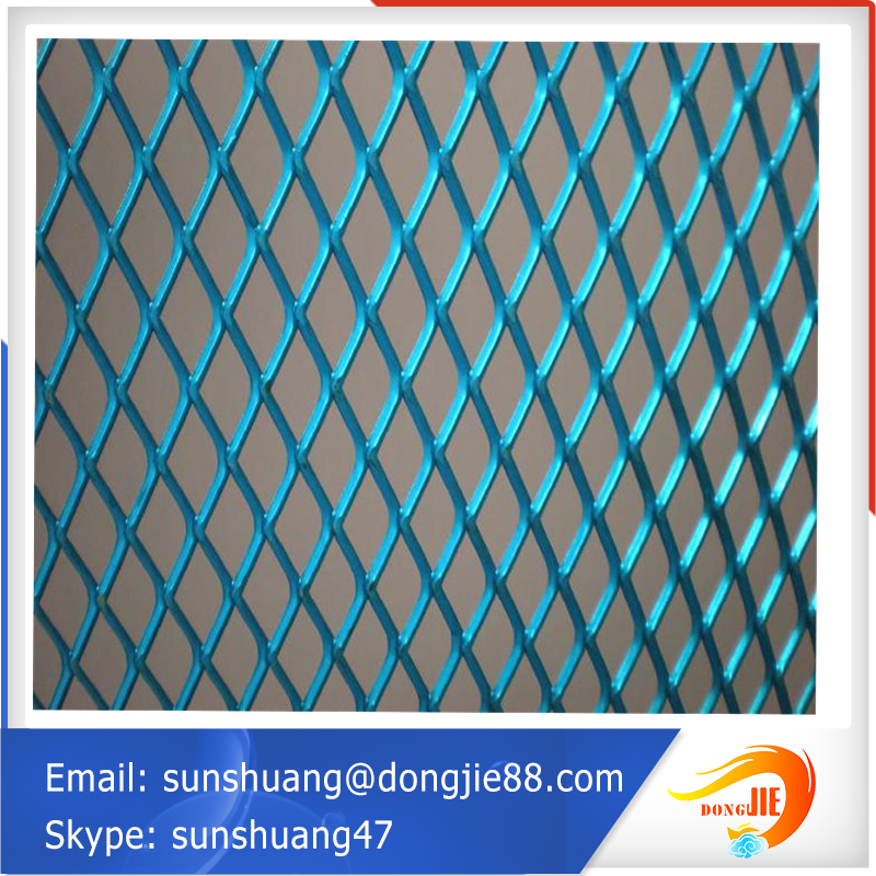 Flexible and convenient expanded metal lath steel plate netting