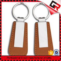 Factory supply leather keyring