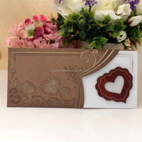 Latest Wholesales Affordable Laser Cut Love Wooden Wedding Invitation
