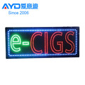E-cig LED Moving Sign, Acrylic LED Letter Sign