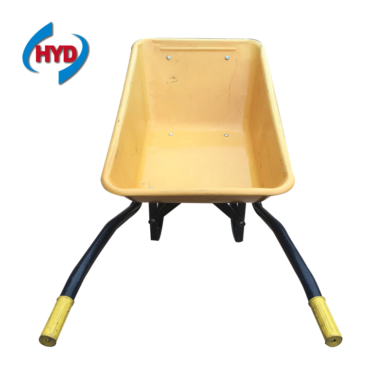 factory price yellow wheelbarrow WB6401