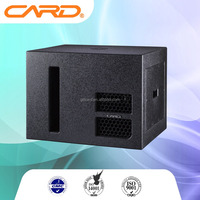 public adress speakers subwoofer speaker 400W high power stage speaker 15 inch karaoke sound mixer