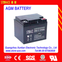 long life battery 12v 40ah AGM battery