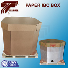 1000 Liter Flexible liquid package Paper IBC Box IBC Container