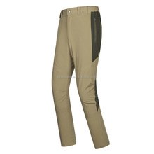 Outdoor Hiking sports wearing Quick dry Wholesale Soft Shell Men Man Softshell pants