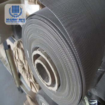 High Tension Micron Stainless Steel Woven Wire Mesh