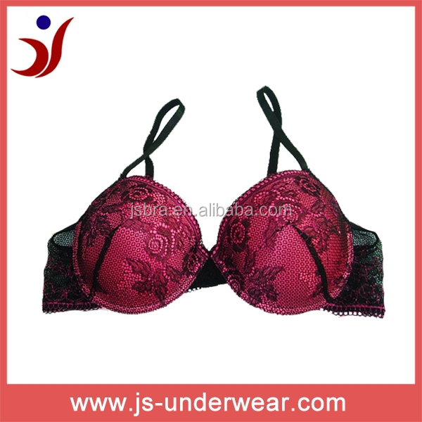 2014 js-787 hot night sexy brassiere with sexy image lace (accept OEM)