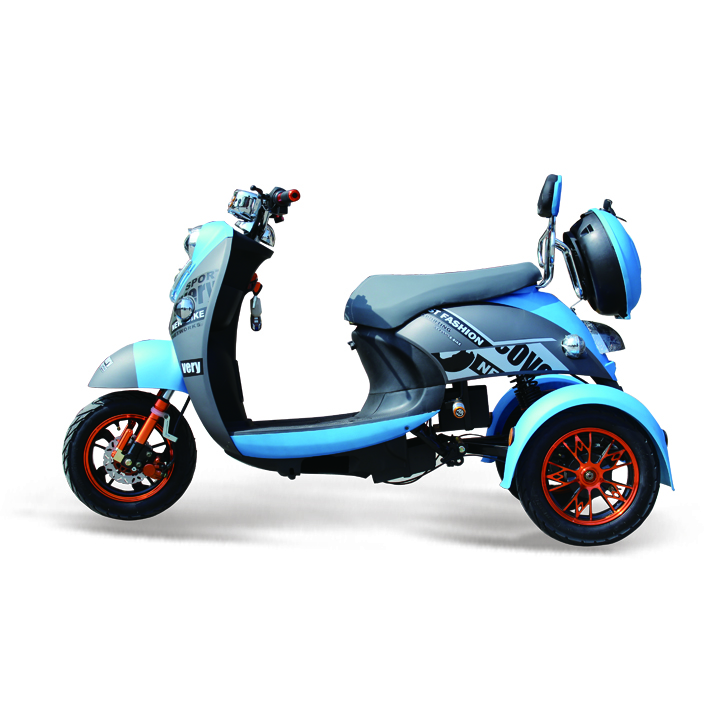 Top quality adult 3 wheel Electric Motorcycle with seat