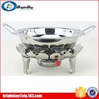 Stainless Steel Alcohol Stove small chafing dish