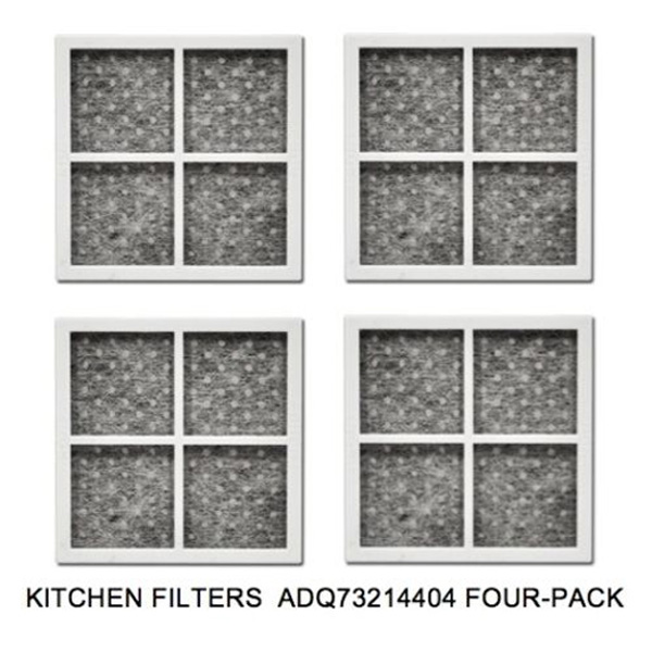 Refrigerator Air Filter Lt120f 3 Pack Replacement Fresh For Fridge P