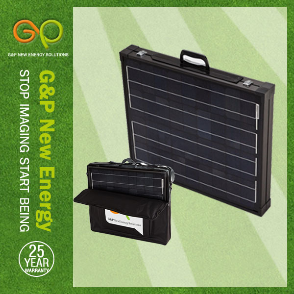 GP 160W Mono Foldable solar panel in high module eficiency for wine price list