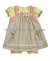 NEW STYLE BEAUTIFUL COTTON GIRL DRESS