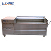 1200kg/h industrial potato peeler machinery/large capacity potato washer peeler machine for factory