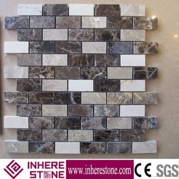 Natural stone mosaic tile for kitchen, moroccan mosaic tile