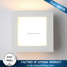Gesso LED Light Product Interior Decoration light Gypsum Gesso Wall Light