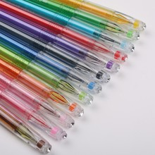 High quality office professional rainbow multi color gel ink pen