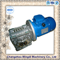 NMRV Die-casting Aluminium Alloy Housing Boat Worm Speed Reducer Gearbox forward reverse with Electric Motors
