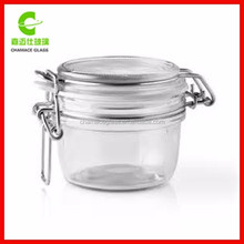 Wholesale Glass Spice Jar With Clamp Lid