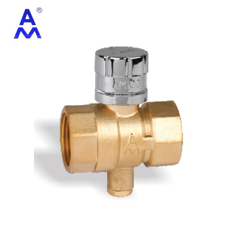 3/4 inch Brass magnetic locking water <strong>ball</strong> <strong>valve</strong> for Connecting calorimeter