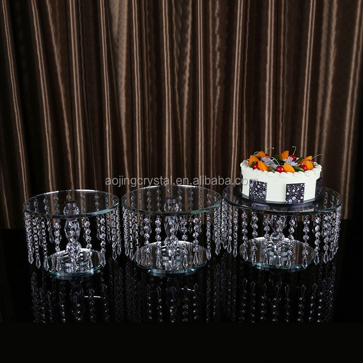 Latest arrival top sale plastic tiered cupcake stand with different size