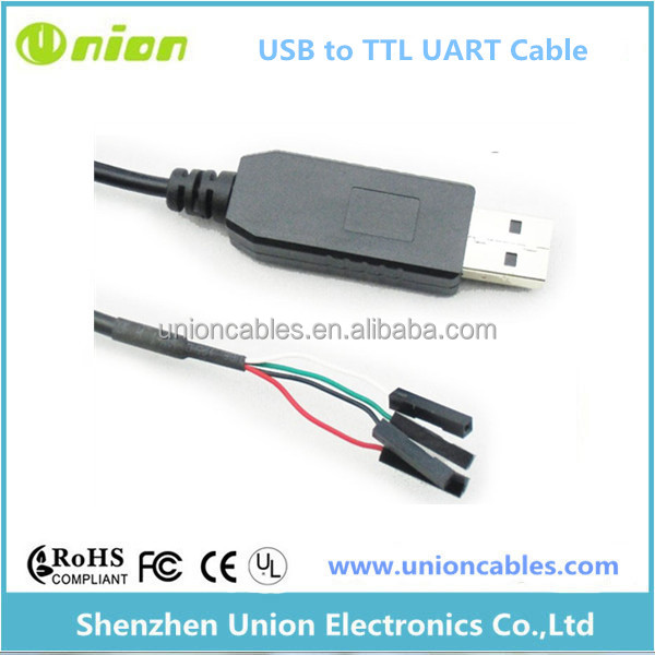 New USB to TTL Serial Cable Adapter PL2303TA USB Computer Cable