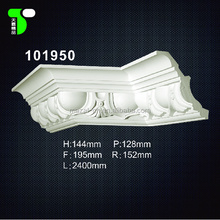China manufacturer PU foam cornice moulding