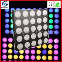 9W*25pcs 3-in-1 LED effect wedding stage background decoration