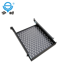 19 inch server rack sliding shelf for 600/800/1000mm depth cabinet