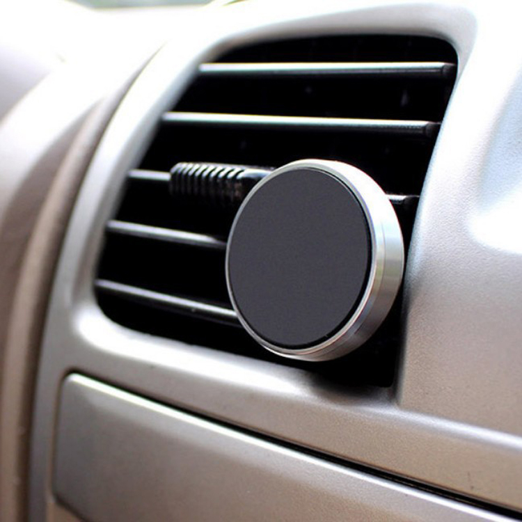 Universal Magnetic Aluminum Alloy Air Vent Car Phone Holder for iphone samsung smartphones