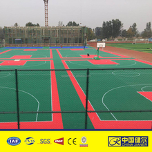 outdoor basketball court interlocking flooring tile