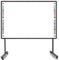 Portable mobile 2Cameras/4Camers Multi-touch writting whiteboard