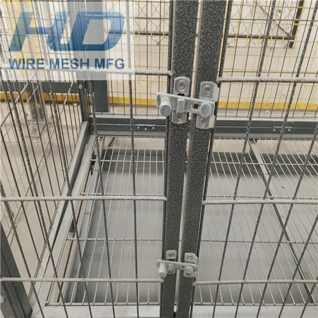 metal dog kennel/hot wire dog fence/1.8x1.2m dog fence