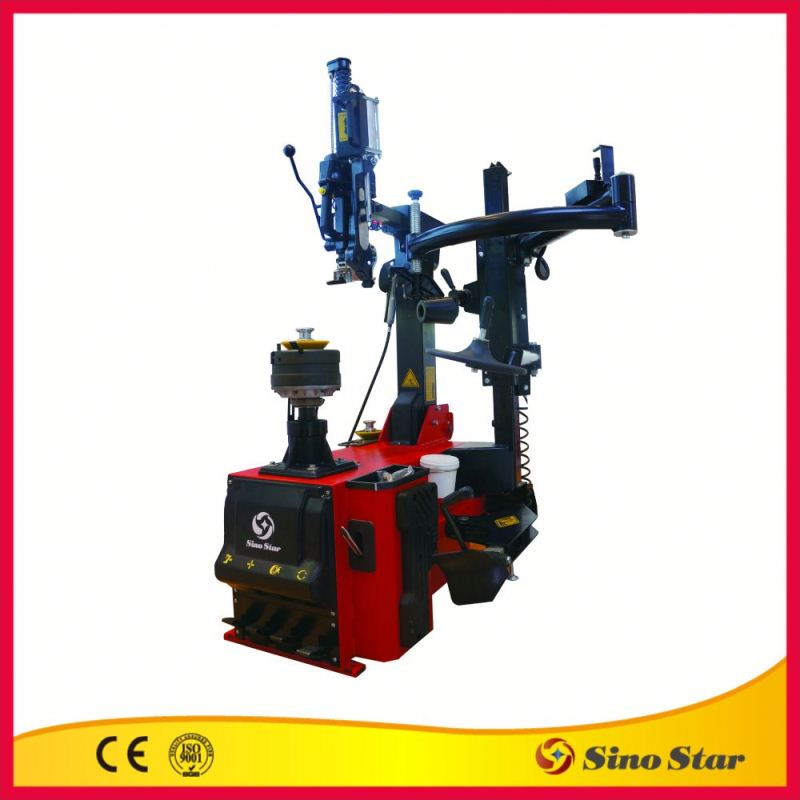 Electric central flange sunrise tire changer by ISO