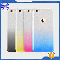 Tpu + Pc Glittering Case,Color Changing Phone Case For Iphone 6